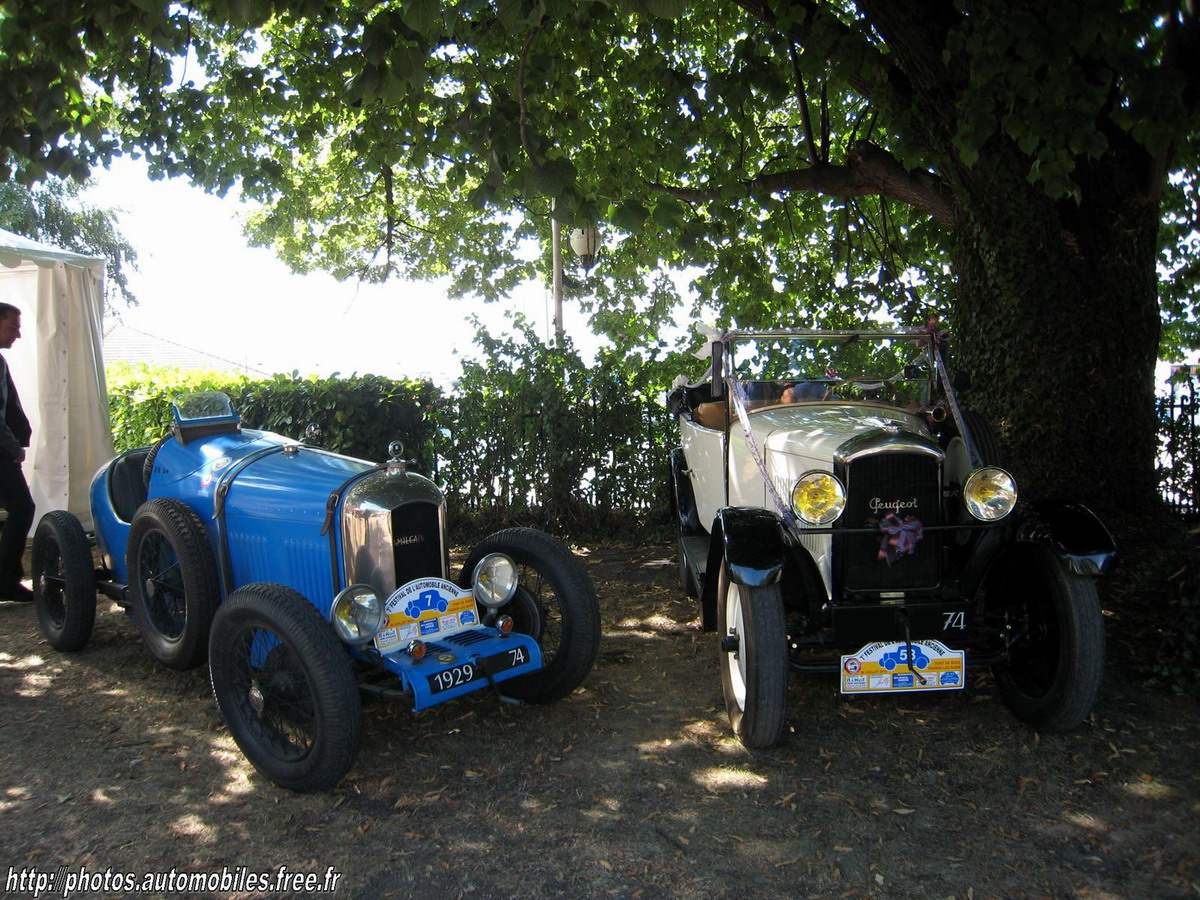 Amilcar CGS & Peugeot 201