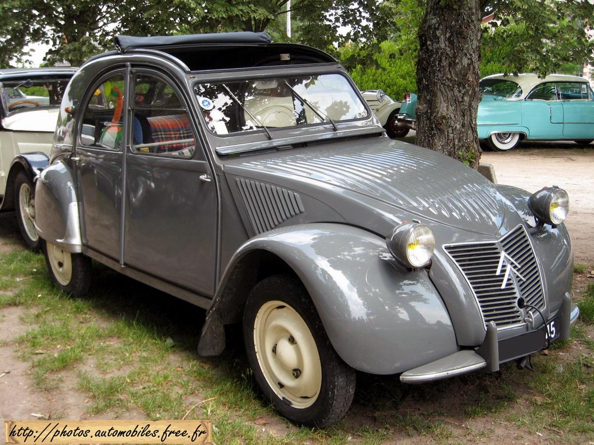 Citroen 2cv Cabriolet Coté