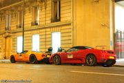 Ford GT 720 Mirage & Ferrari F430 Spider