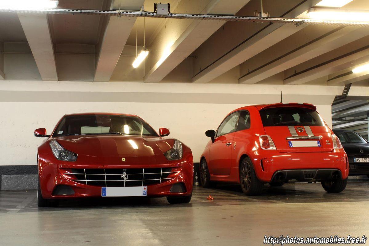 Photos Automobiles Photos De Ferrari Ff Dans La Rue