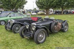 Riley 12/4 1935 Special & MG TB