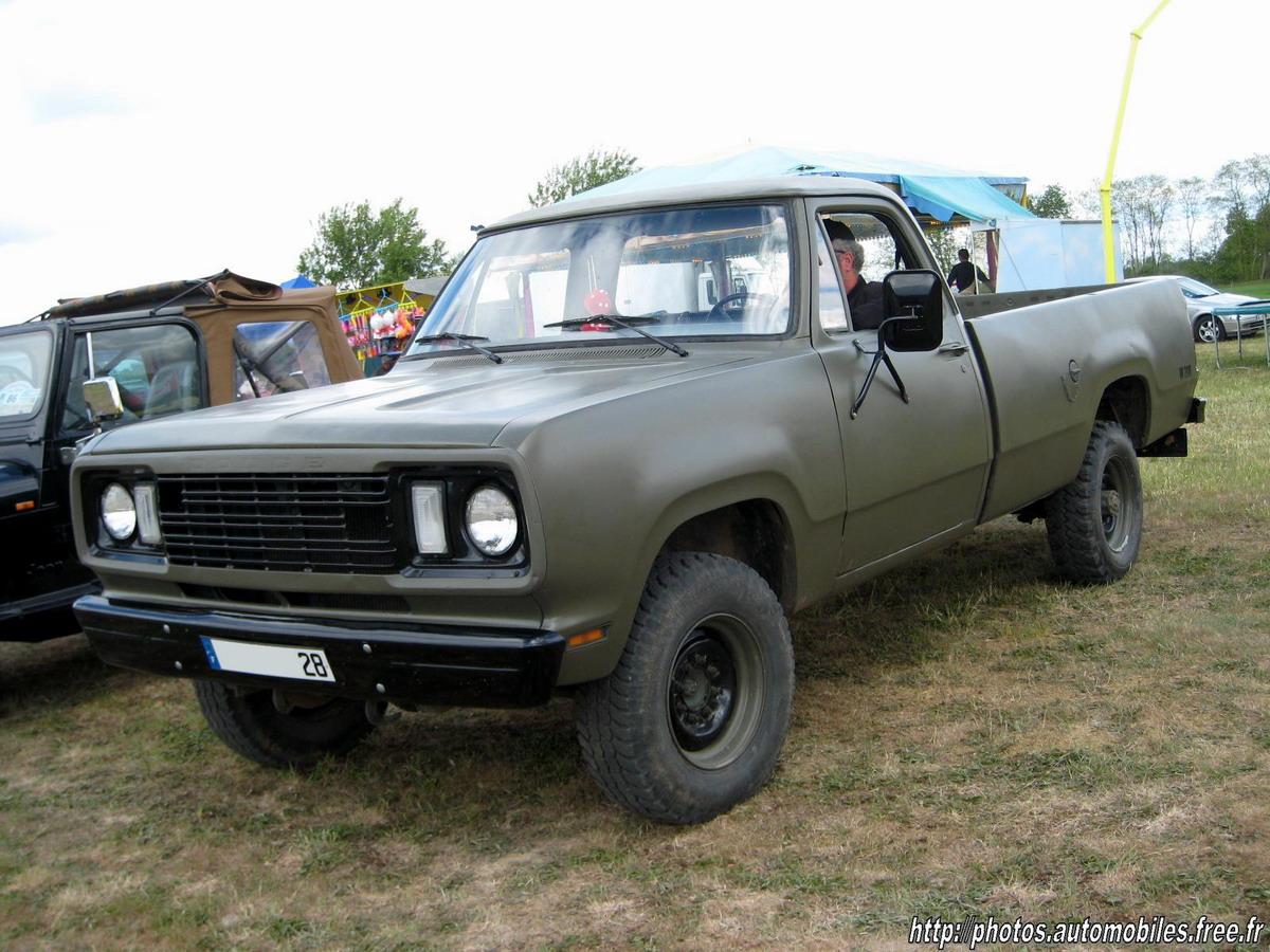 1977 Dodge Pickup Adventurer SE Dodge_W200