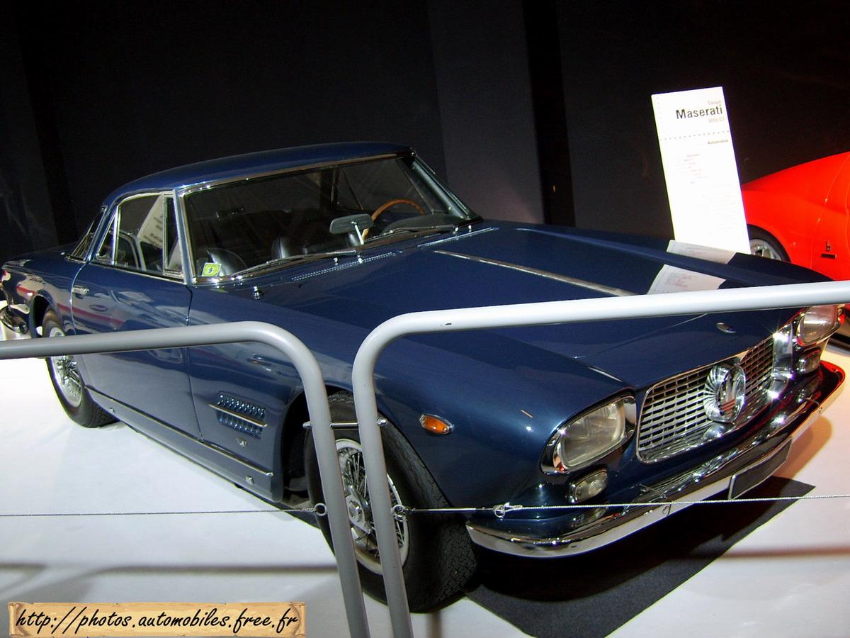 Maserati 5000 GT coupe by Allemano 1963 f3q 500x375 Maserati 5000 GT ...