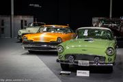 Lincoln Premiere Dreamsicle Hot Road & Ford Thunderbird