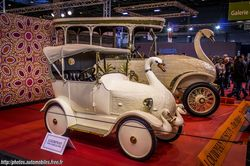 Brooke 25/30 HP Swan Car & Baby Swan Car