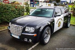 Chrysler 300C Touring Police